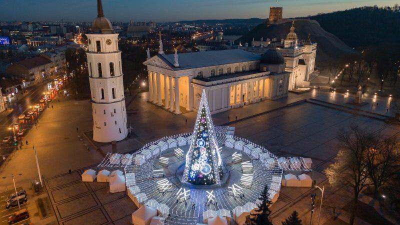 01 - Вильнюс - топ 10 мест для лучших фото на Рождество