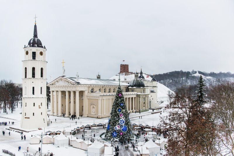 02 - Вильнюс - топ 10 мест для лучших фото на Рождество