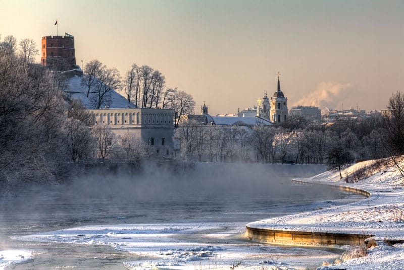 04 - Вильнюс - топ 10 мест для лучших фото на Рождество