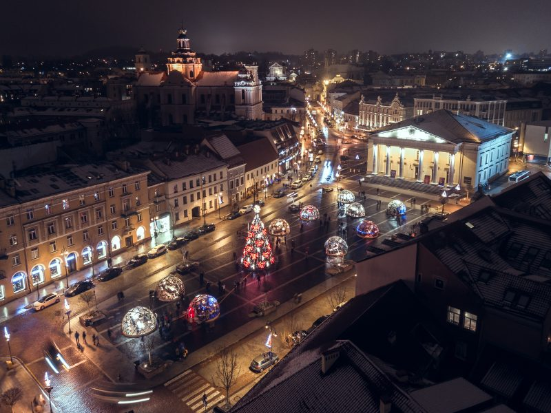 08 - Вильнюс - топ 10 мест для лучших фото на Рождество