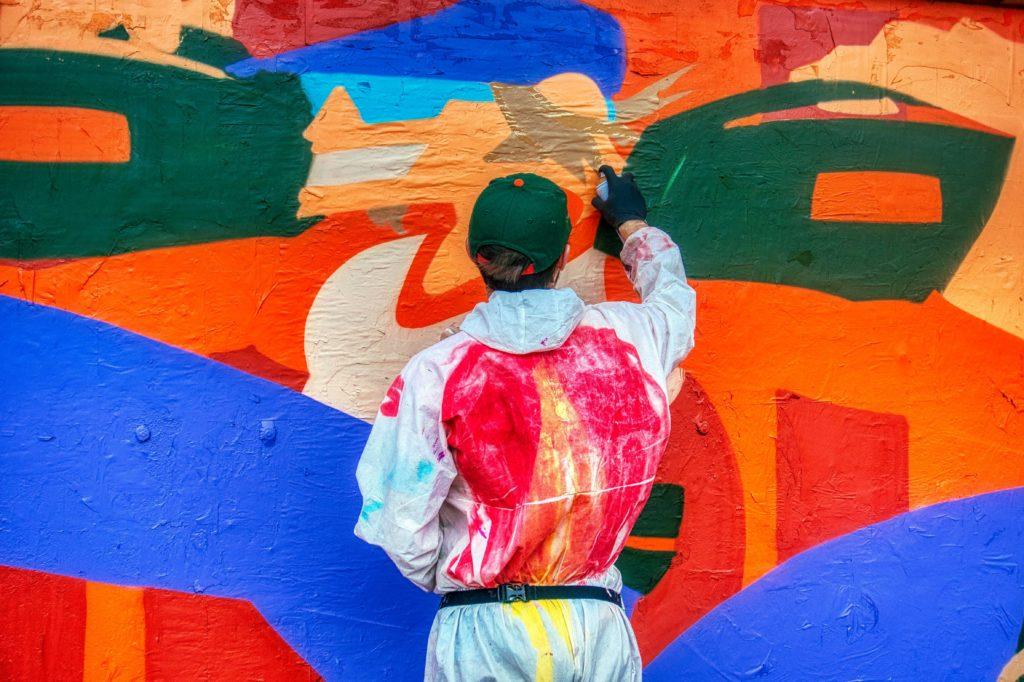 Vulica Brasil  граффити