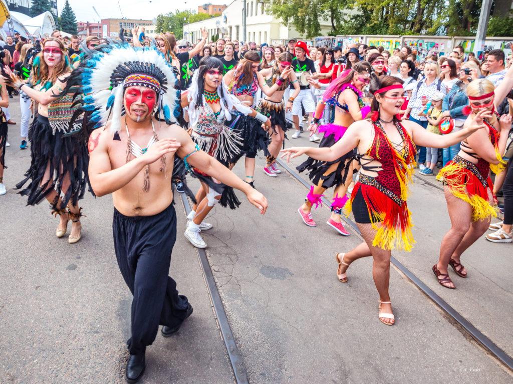 Vulica Brasil  карнавал