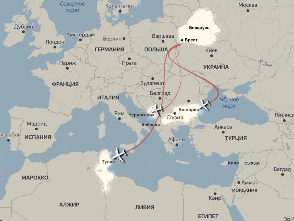 1 1024x768 - В какие страны можно улететь на отдых из разных городов Беларуси? Полетная программа 2020