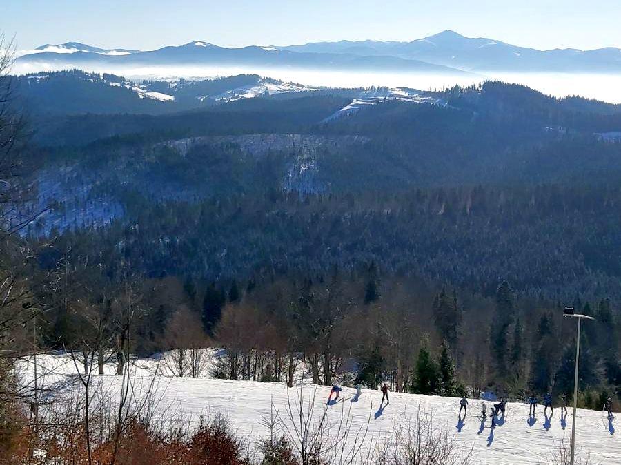 Буковель вид с горы