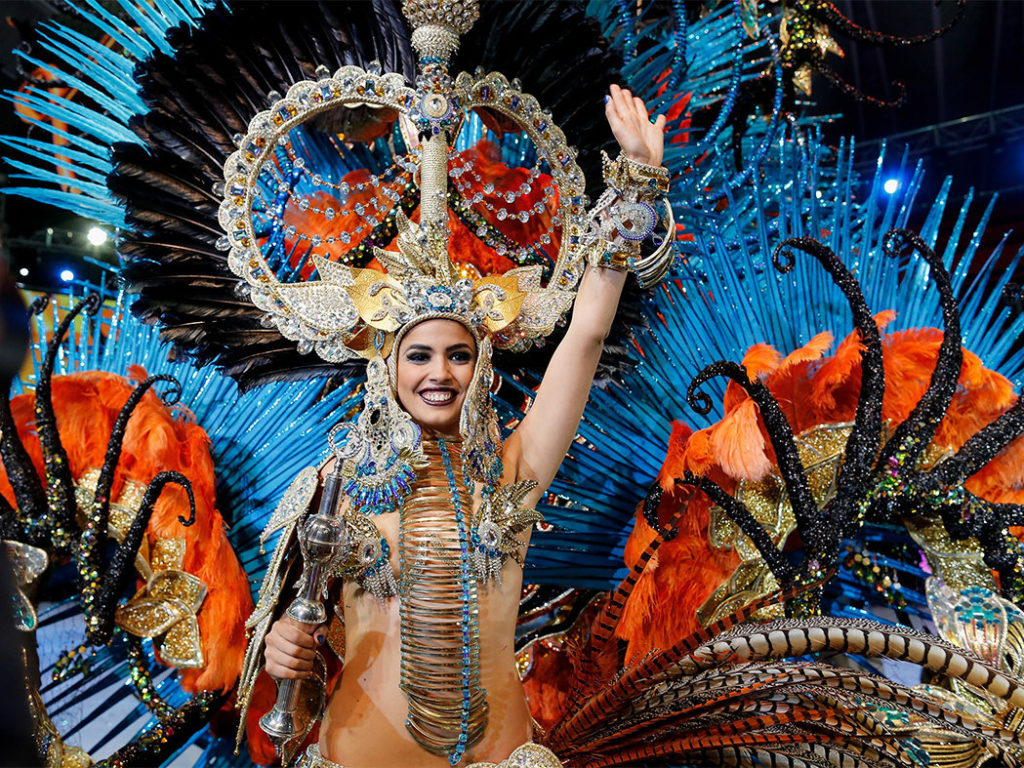 Королева Карнавал на Тенерифе