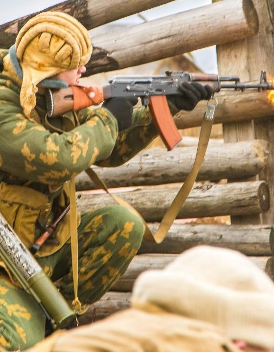 23 февраля День защитников Отечества. Фоторепортаж с военной реконструкции