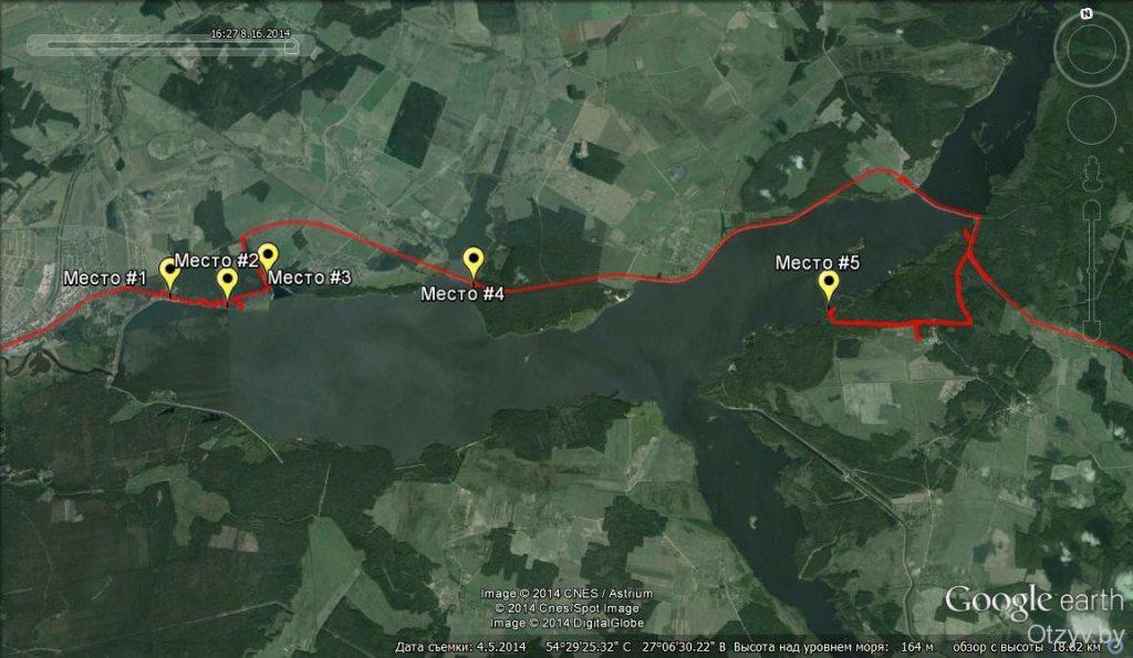 06 1 1024x595 - Отдых в Беларуси: «тайные» места на Вилейском водохранилище