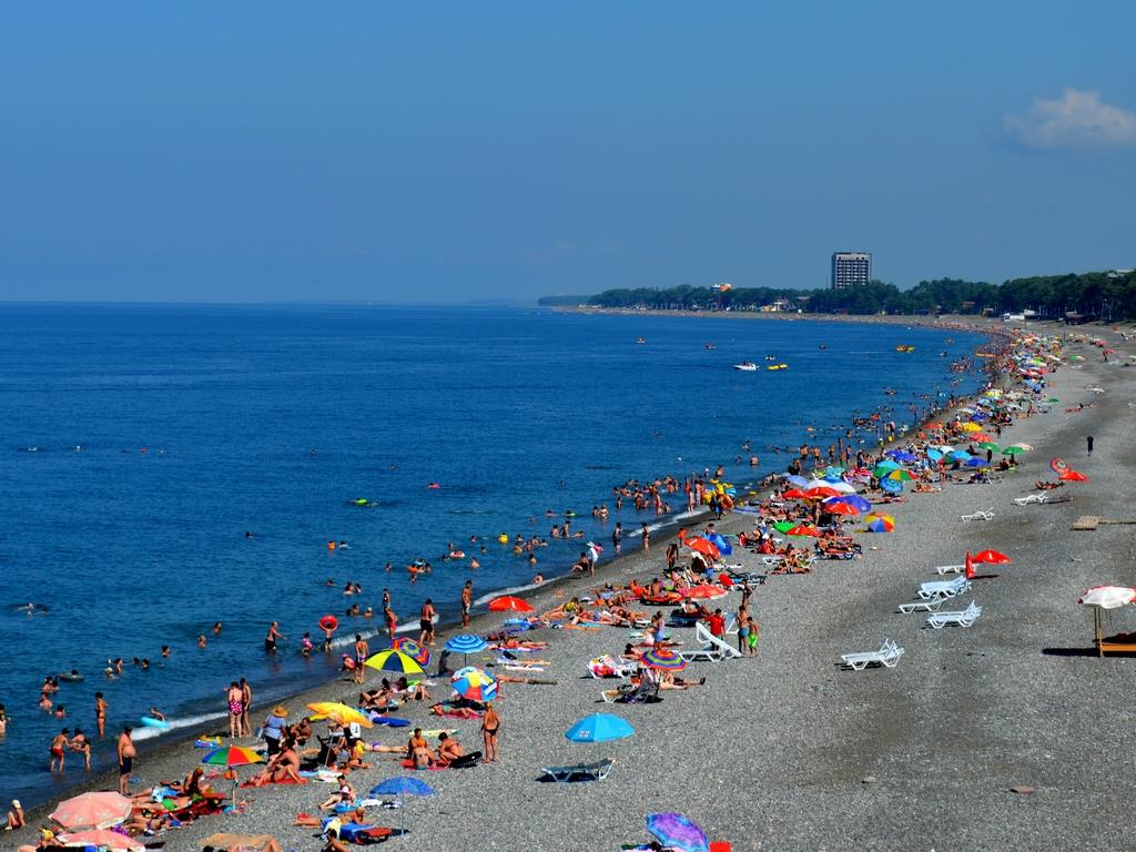 Кобулети пляж в Грузии